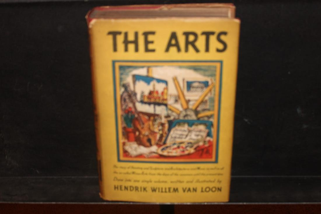 EXCELLENT BOOK ON ARTS - COVERS PAINTINGS, SCULPTURE,