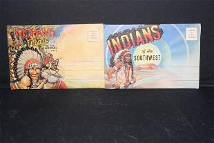 2 NICE VIEW FOLDERS OF NATIVE AMERICANS BOTH IN