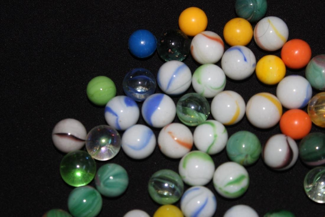 85 SMALL COLORFUL MARBLES GOOD CONDITION - 3