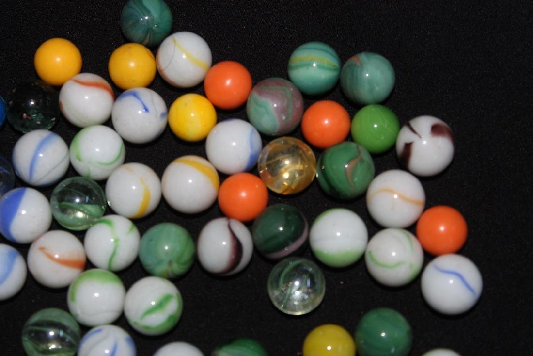 85 SMALL COLORFUL MARBLES GOOD CONDITION - 4