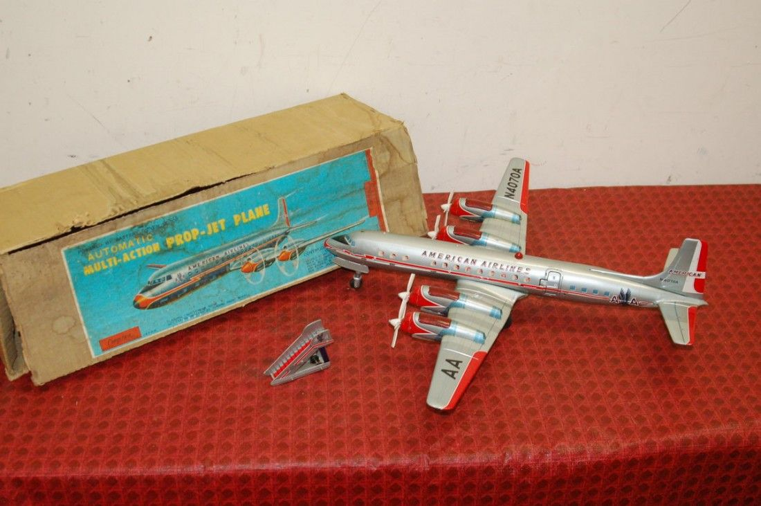 AMERICAN AIRLINES TIN PLANE BY CRAGSTAN - JAPAN -
