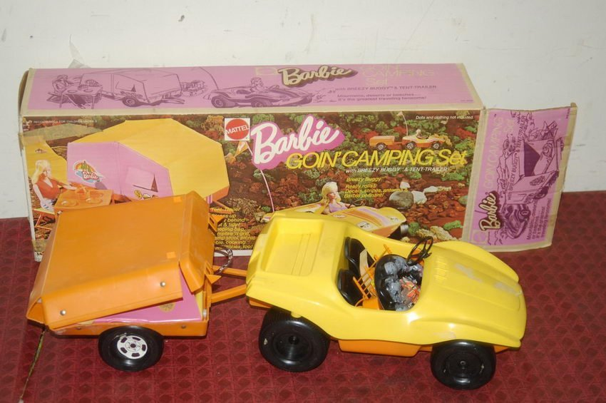 22: BARBIE GOING CAMPING SET