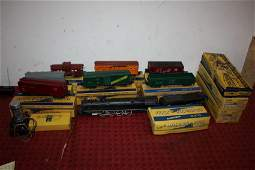 116: LOT OF AMERICAN FLYER TRAINS