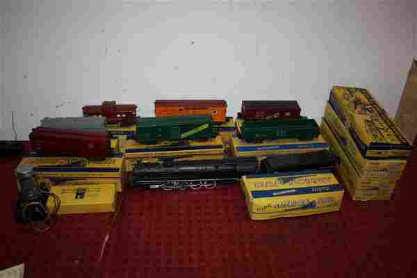 LOT OF AMERICAN FLYER TRAINS