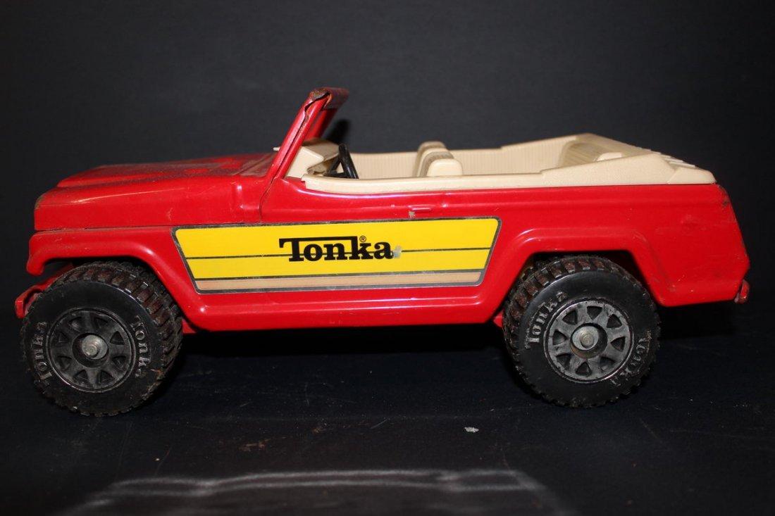 """19: TONKA SPORTS JEEP - NEAR MINT - METAL - 13"""""""