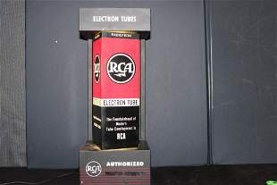 GREAT PIECE OF RCA ADVERTISING - LIGHTS UP AND ROTA