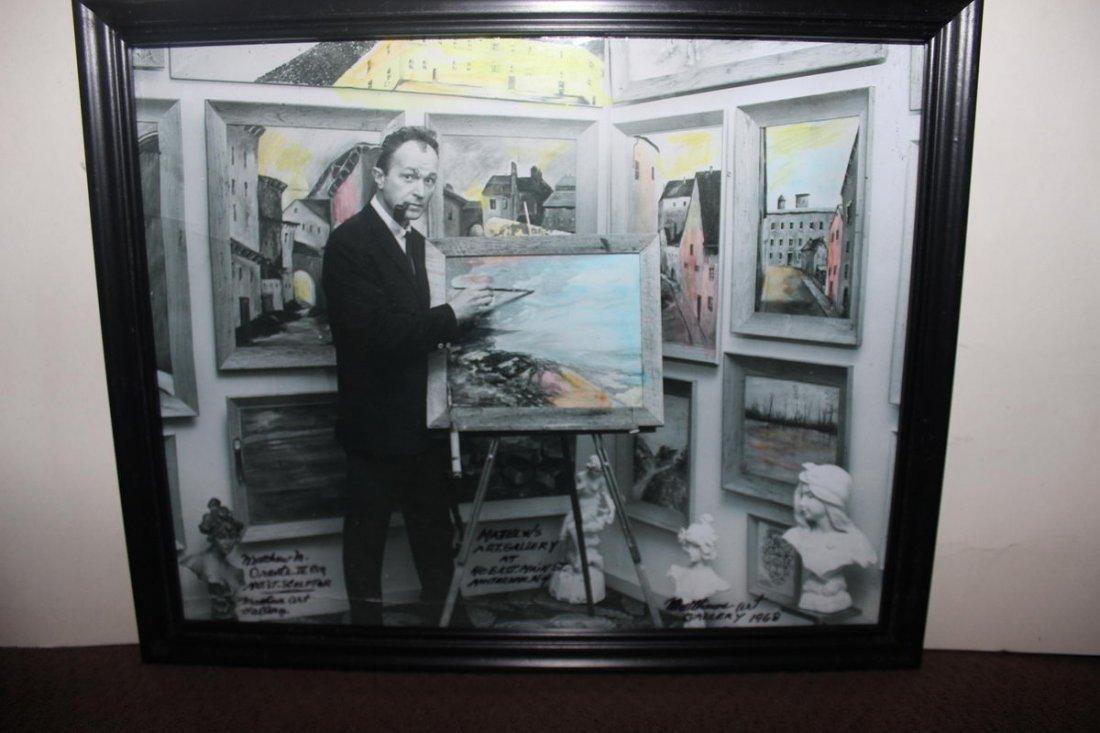 1B: MATTHEW IN HIS ART GALLERY 1968