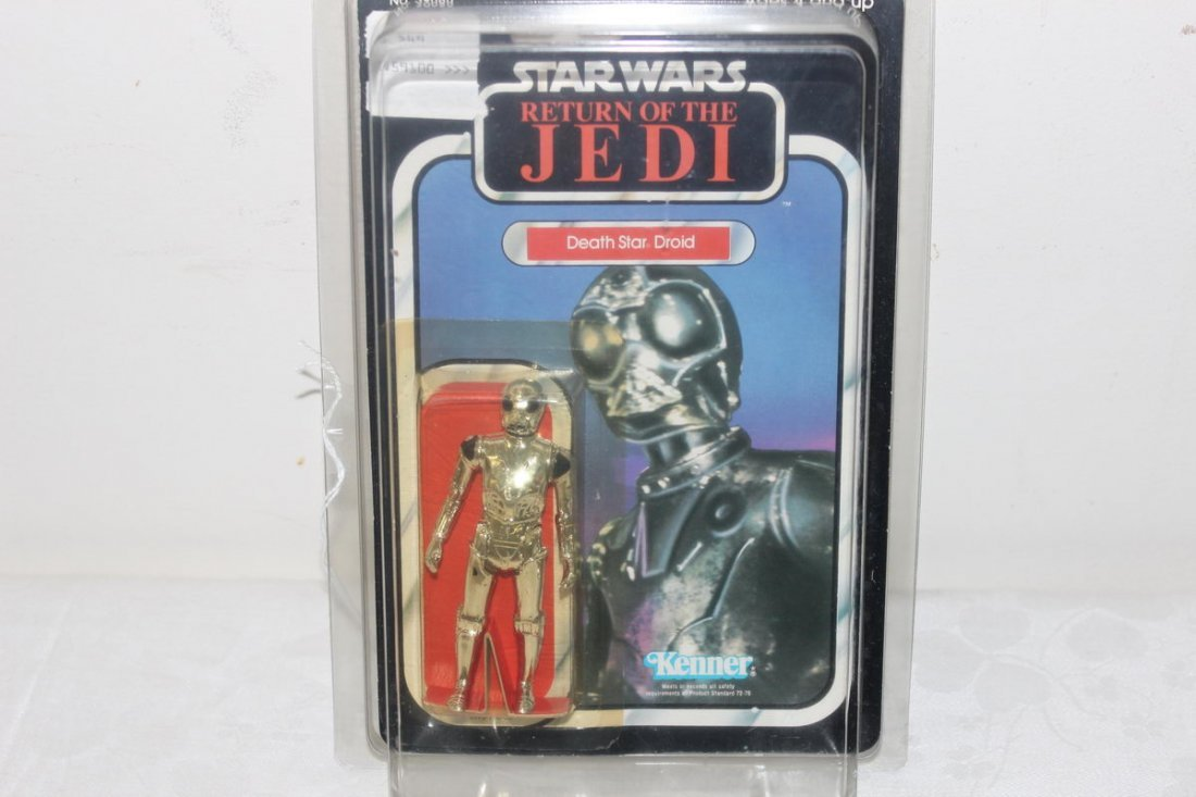 3: DEATH STAR DROID - 1983 - NEW IN ORIGINAL PACKAGE