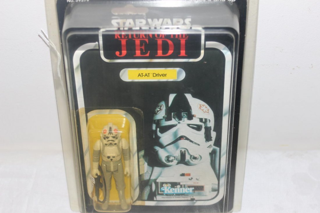 14: RETURN OF THE JEDI AT - AT DRIVER - 1983 - NEW IN O