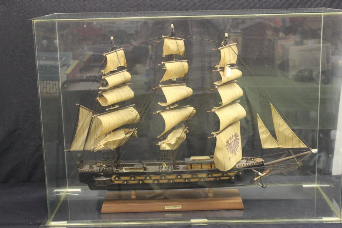 24: TRULY A GREAT MODEL OF THE FRAGATA - ESPANOLA 1780