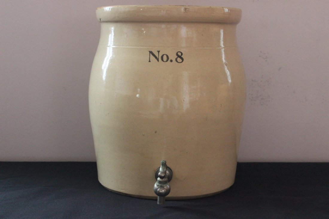 8: STONEWARE WATERCOOLER - 12 INCH - WITHOUT TOP