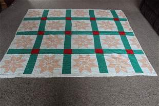 FULL SIZE QUILT - GOOD CONDITION
