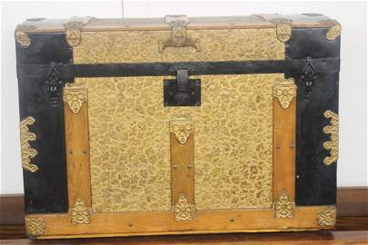 1: GREAT ORNATE SHORT DOME TOP TRUNK - NEAR MINT