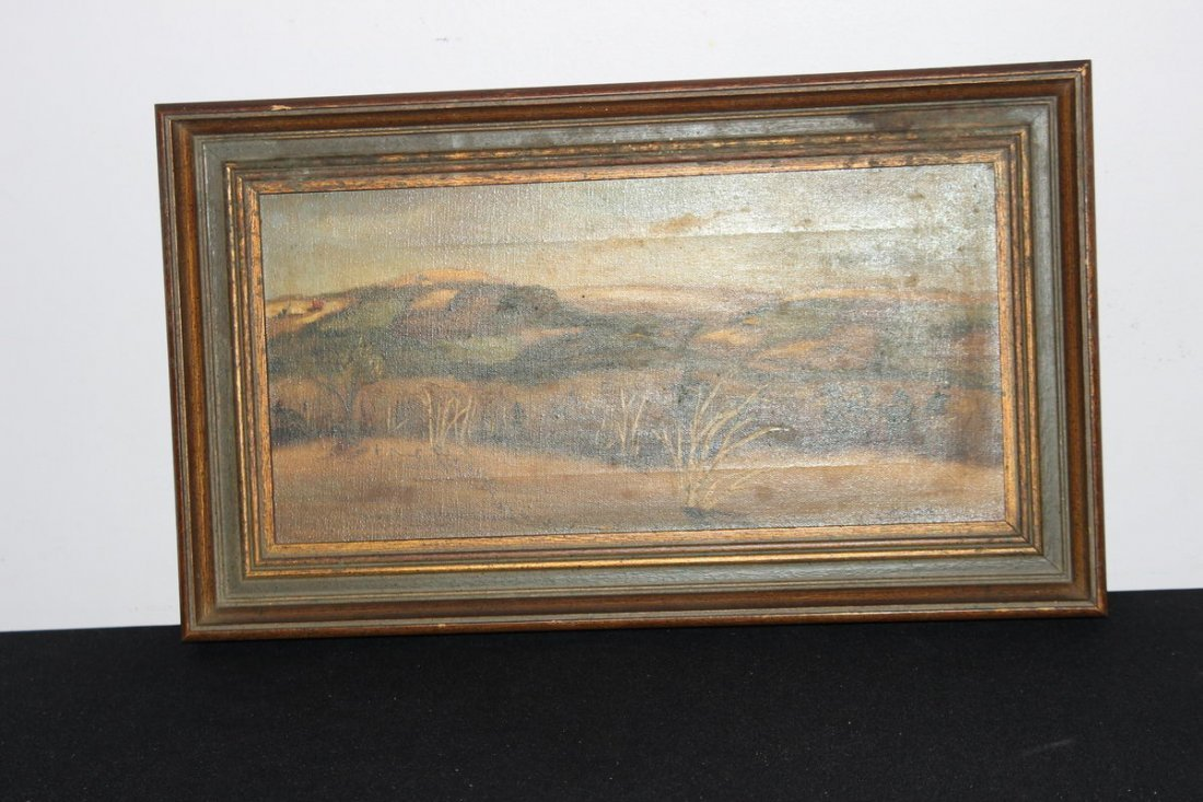 10: SIGNED OIL ON CANVAS ANN SUTPHEN 19 X 11
