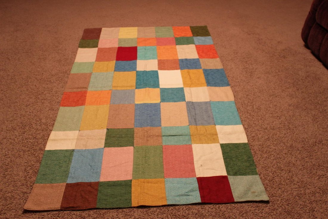 14: SINGLE PATCH WORK QUILT