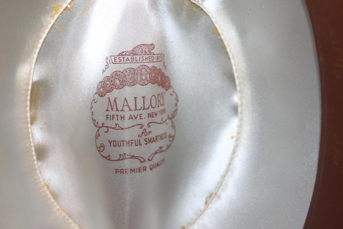 MALLORY HATS FIFTH AVENUE NEW YORK IN BOX - 2