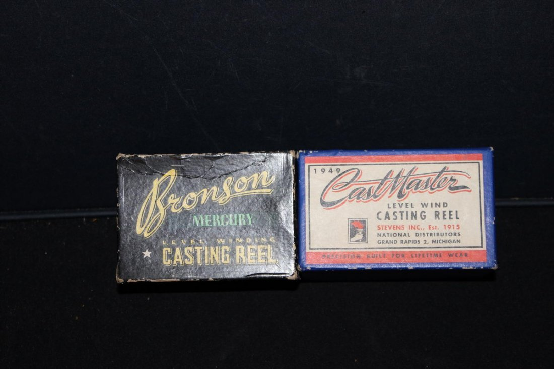 2 NEW REELS - ONE BOXES - 1949 MINT