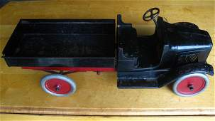 24 INCH BUDDY L TRUCK - VINTAGE - WITH ORIGINAL PAINT