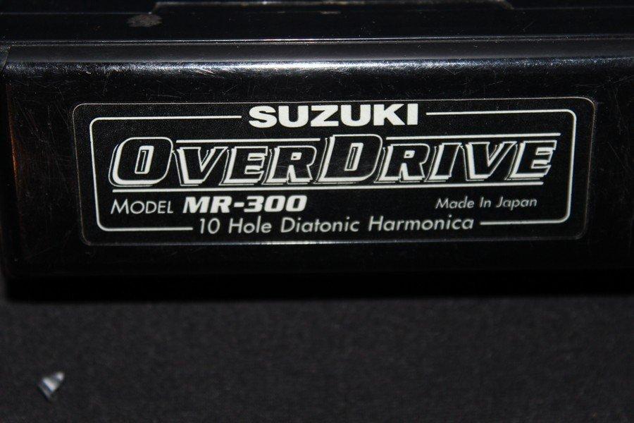 SUZUKI OVERDRIVE HARMONICA MODEL MR300 - MINT