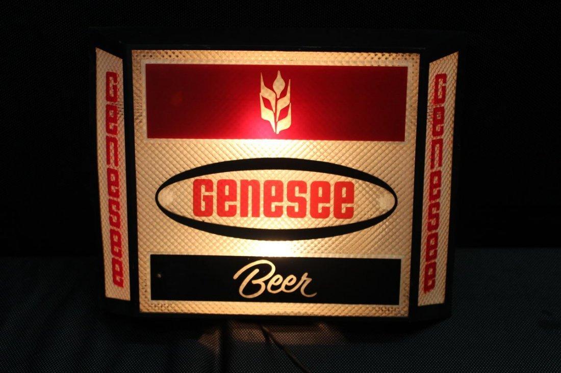 LIGHT UP GENESEE BEER SIGN WORKS