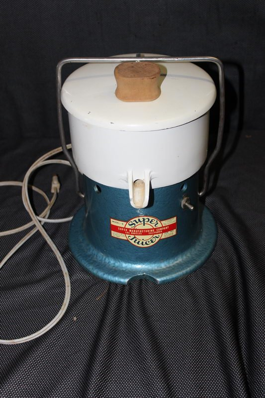 """RETRO """"SUPER JUICER"""" BY SUPER MANUFACTURING, GREAT"""
