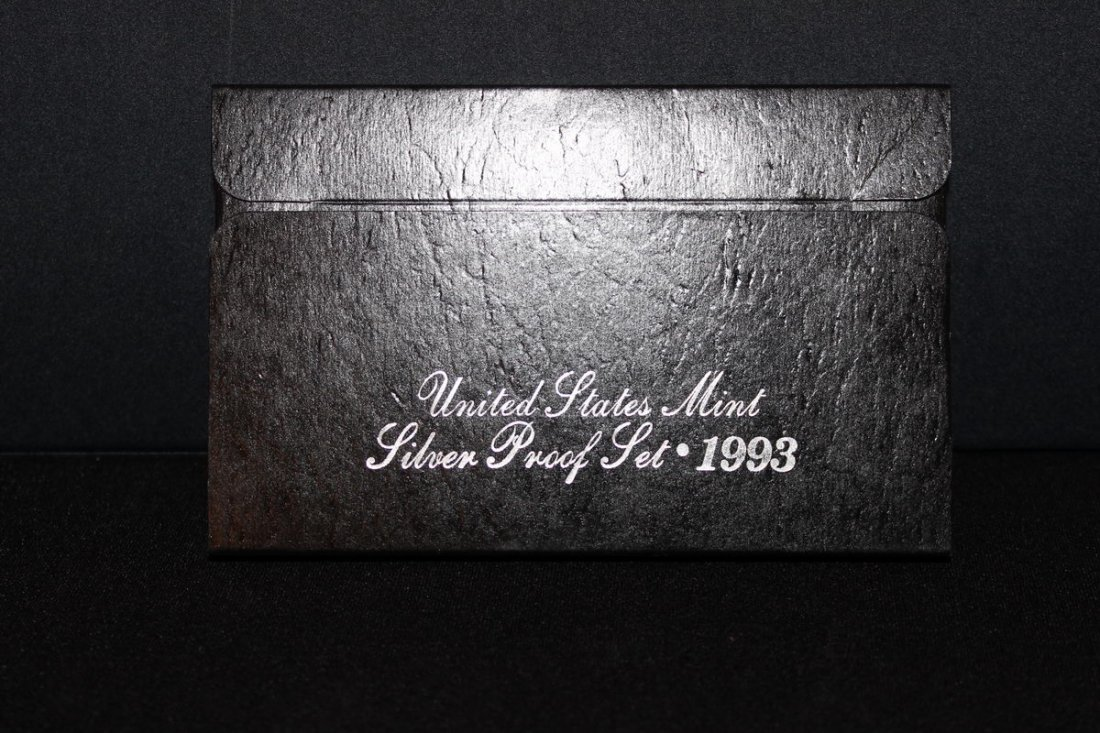 1993 US MINT SILVER PROOF SET 90% SILVER