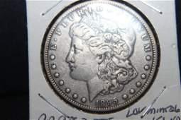 RARE KEY DATE 1895O MORGAN DOLLAR LOW MINTAGE 450,000