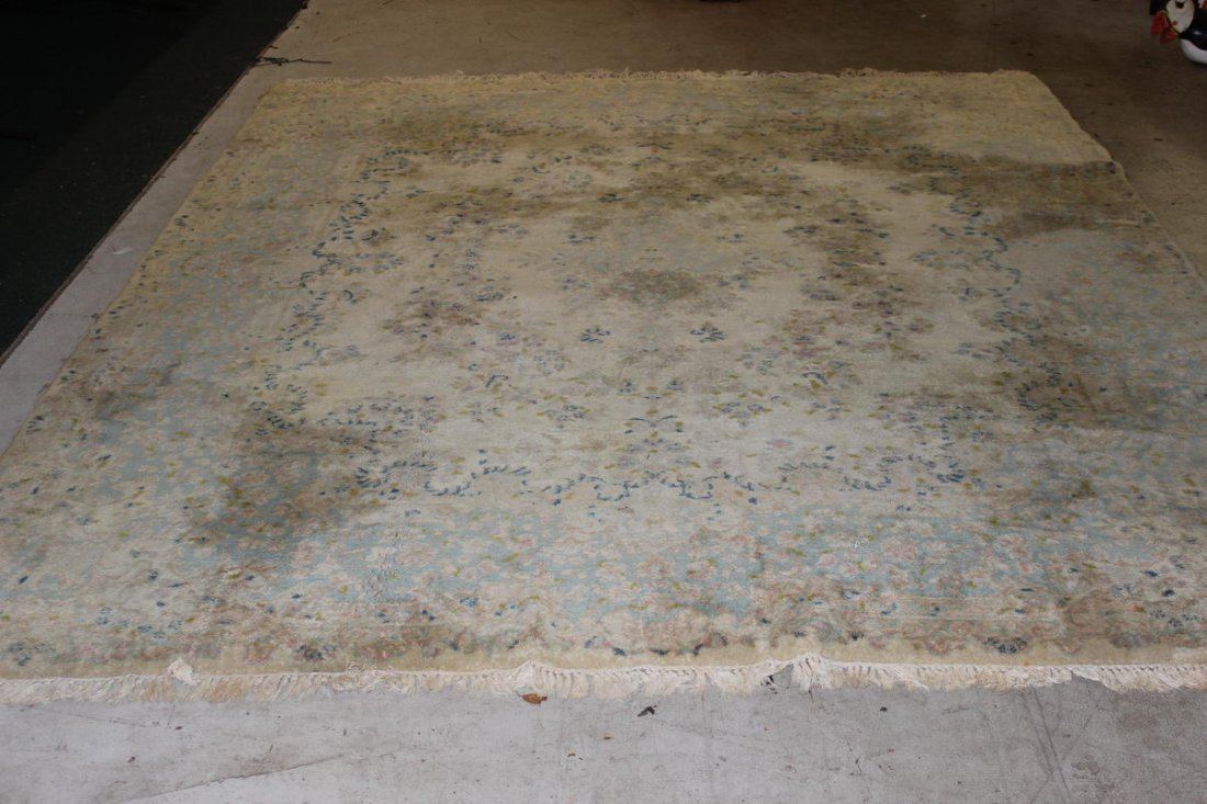 ORIENTAL RUG NEEDS CLEANING 9.8 X 7.8
