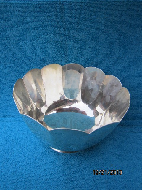 GREAT TIFFANY AND COMPANY STERLING BOWL #25047 18.3