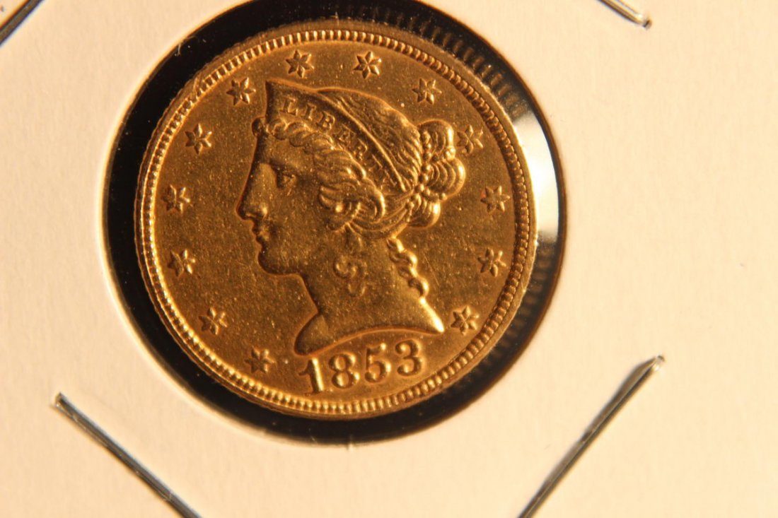 LIBERTY HEAD $5.00 GOLD COIN VERY FINE