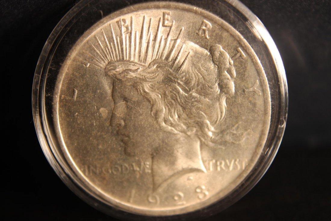 1923 PEACE DOLLAR B.U.