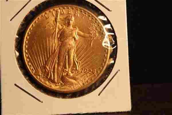 1924 SAINT-GAUDENS DOUBLE EAGLE $20 GOLD PIECE