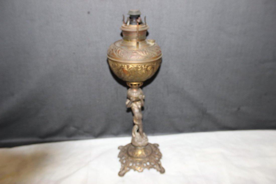 BEAUTIFUL BRADLEY AND HUBBARD BANQUET LAMP BASE - NO