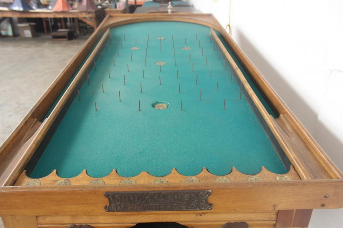 PARLOR ROLLER BALL TABLE - WORKS GREAT - MINT COND. - G