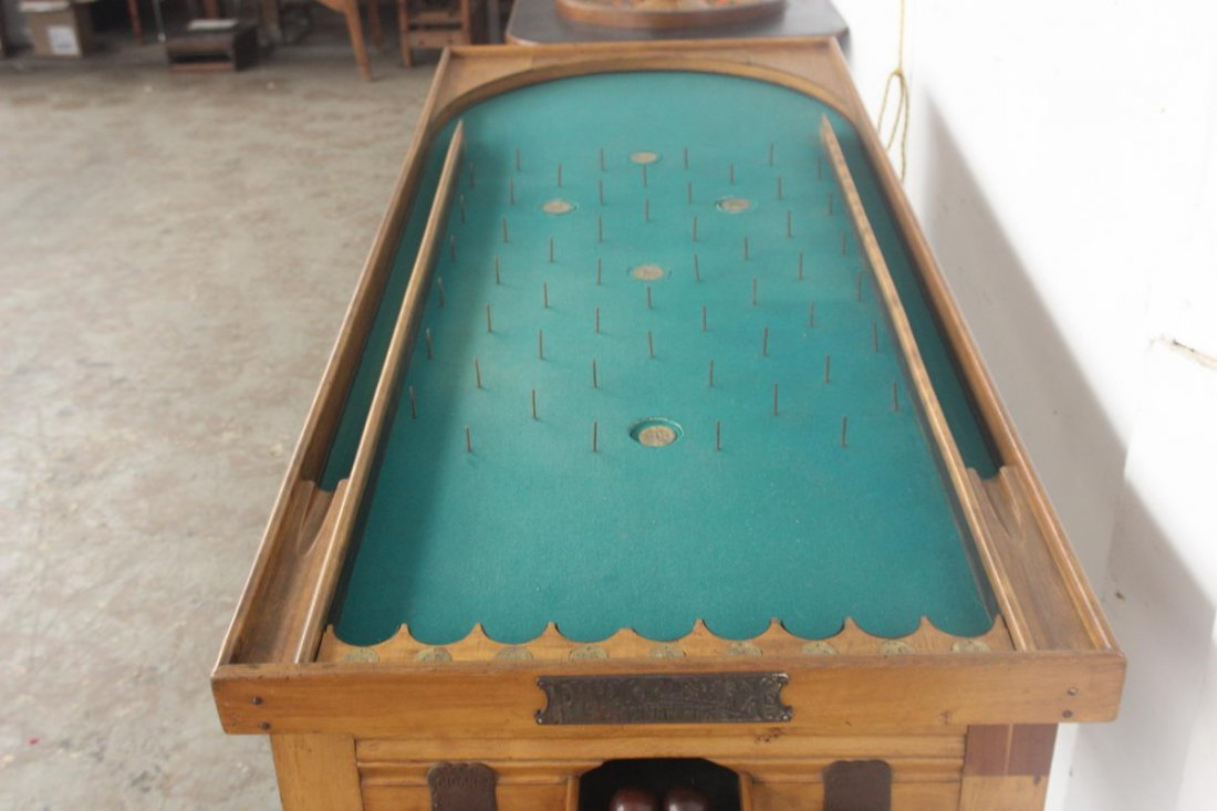 PARLOR ROLLER BALL TABLE - WORKS GREAT - MINT COND. - G - 2