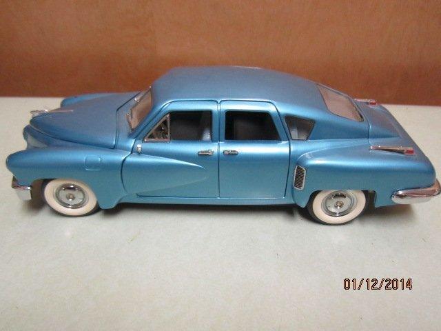 RARE 1948 TUCKER AUTOMOBILE FRANKLIN MINT PRECISION