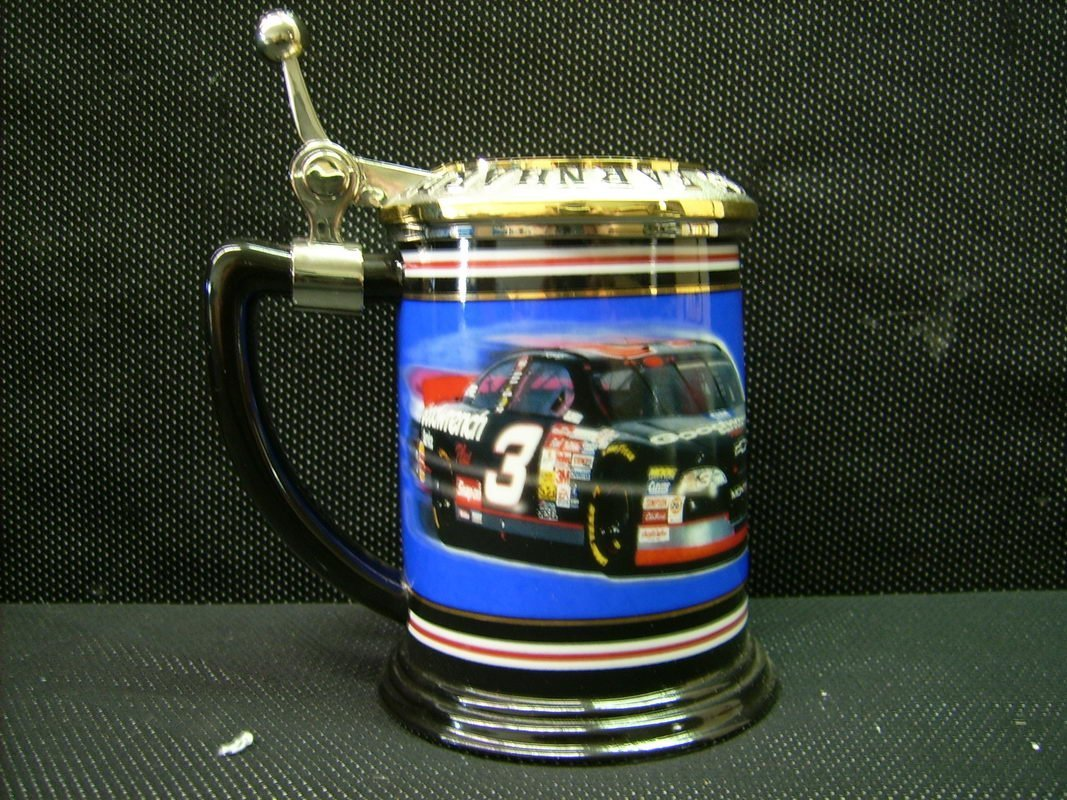 FRANKLIN MINT LIMITED EDITION DALE EARNHARDT STEIN