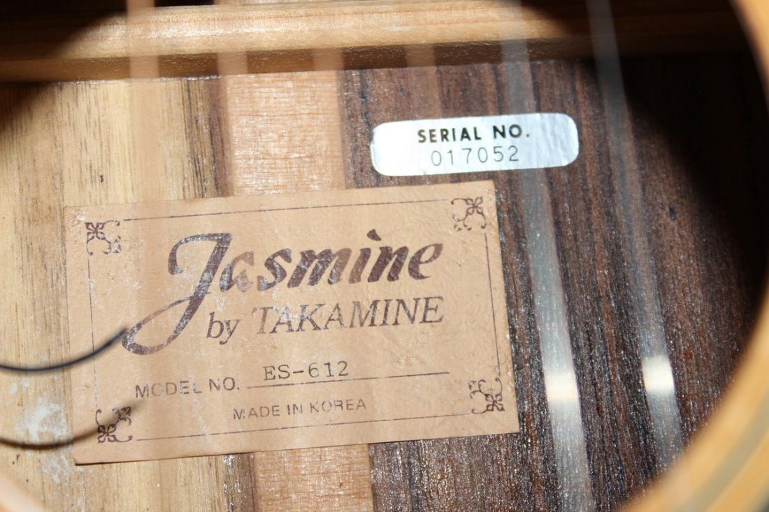 JASMINE 12 STRING ACOUSTIC GUITAR NEAR MINT CONDITION - 5