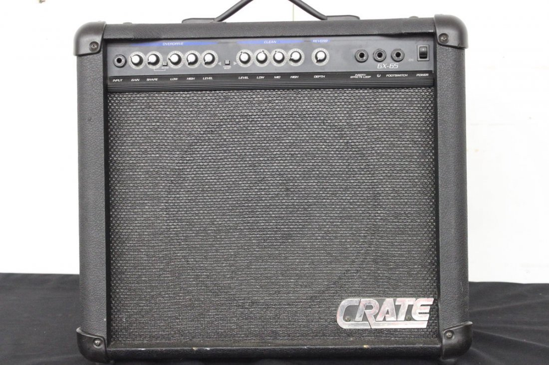 CRATE GX 65 AMP WORKS