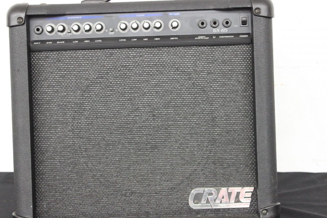 CRATE GX 65 AMP WORKS - 2