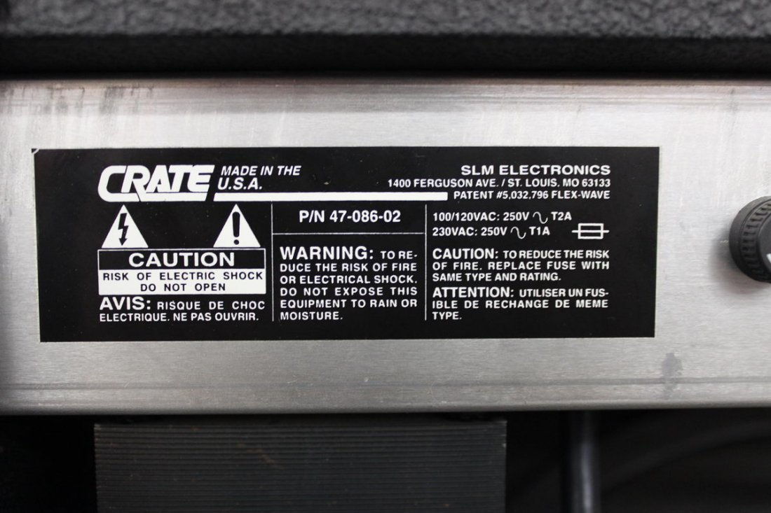 CRATE GX 65 AMP WORKS - 4