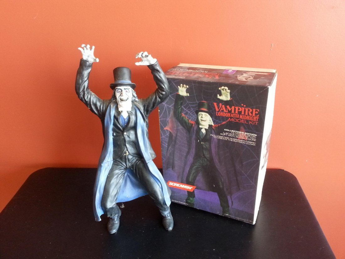 """SCREAMIN"" LONDON AFTER MIDNIGHT MODEL KIT PRO PAINTED"