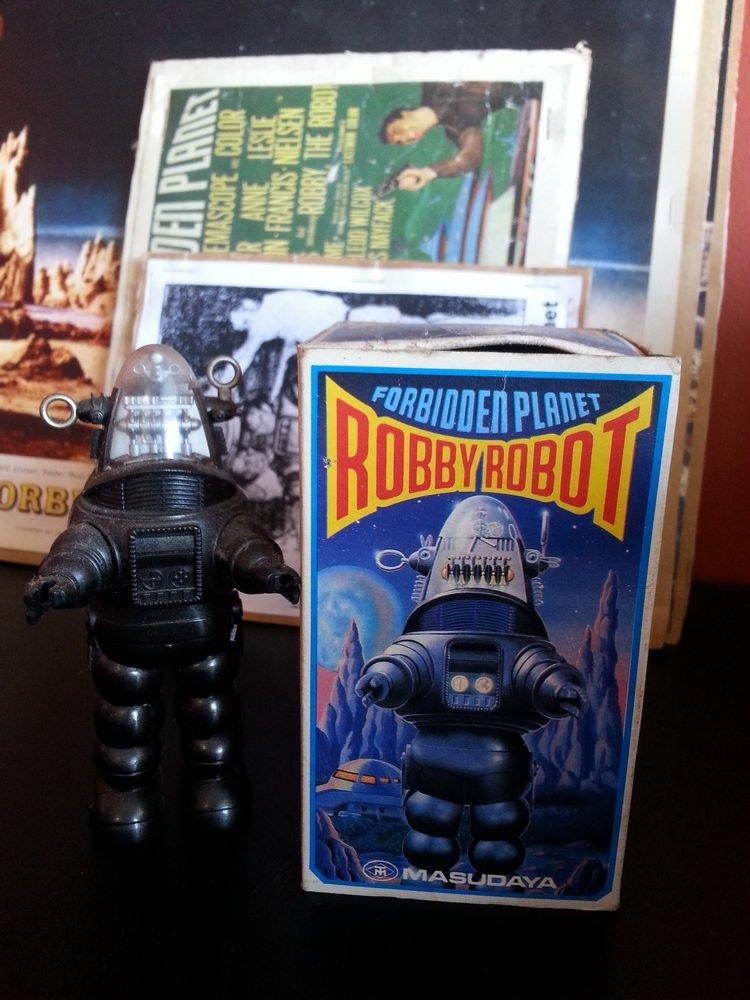 FORBIDDEN PLANET ROBBY THE ROBOT MASUDAYA 16 INCH - 6
