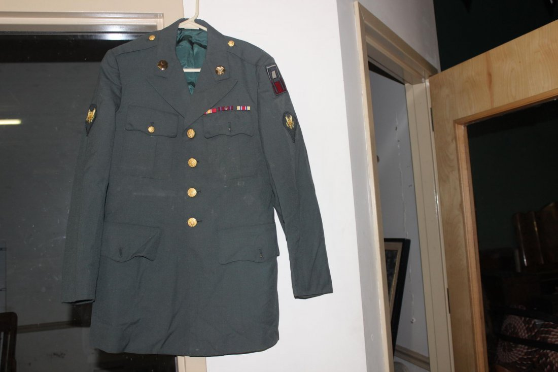 U.S. ARMY DRESS GREENS JACKET FROM THE 60S GOOD