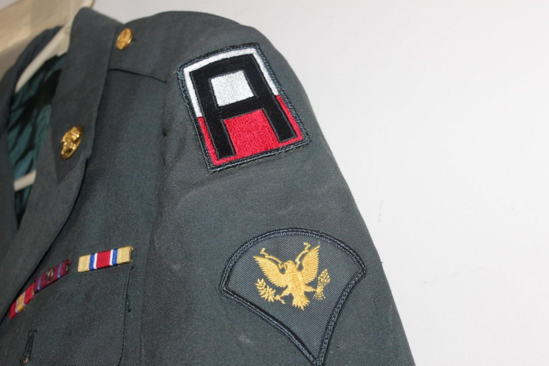 U.S. ARMY DRESS GREENS JACKET FROM THE 60S GOOD - 3