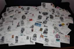 LARGE LOT OF 1980'S  & 1990'S FIRST DAY COVERS - MINT