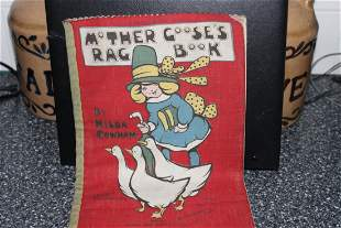 MOTHER GOOSE RAG BOOK MADE IN ENGLAND ARTISTS SIGNED 11
