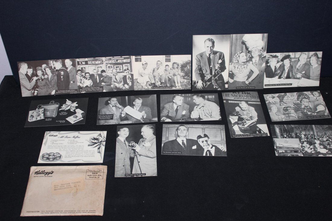14 VERY RARE 1945 KELLOGG'S POSTCARDS NEW IN ORIGINAL