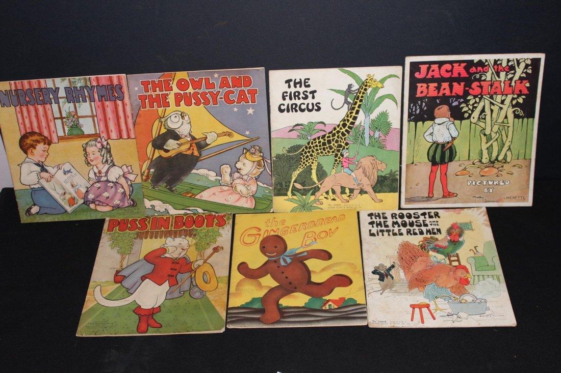 7 VERY NICE CHILDREN'S BOOKS 3 DATED 1940 - 1 1932 - 1