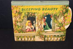 SLEEPING BEAUTY 1961 ENGLAND CHILD'S POP-UP BOOK IN